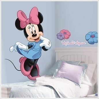 MINNIE MOUSE wall stickers MURAL decal Clubhouse 40 big room decor