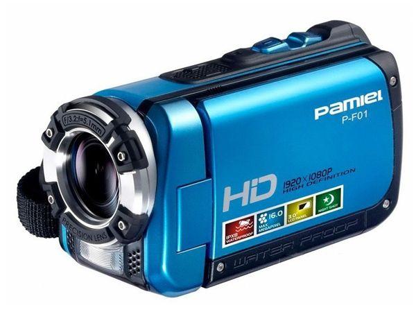 Water proof 1920X1080P HD Digital Video Camcorder camera DV Bule