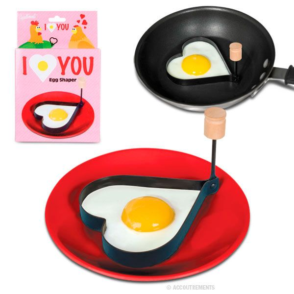 HEART EGG SHAPER, VALENTINES DAY, LOVE, FUN