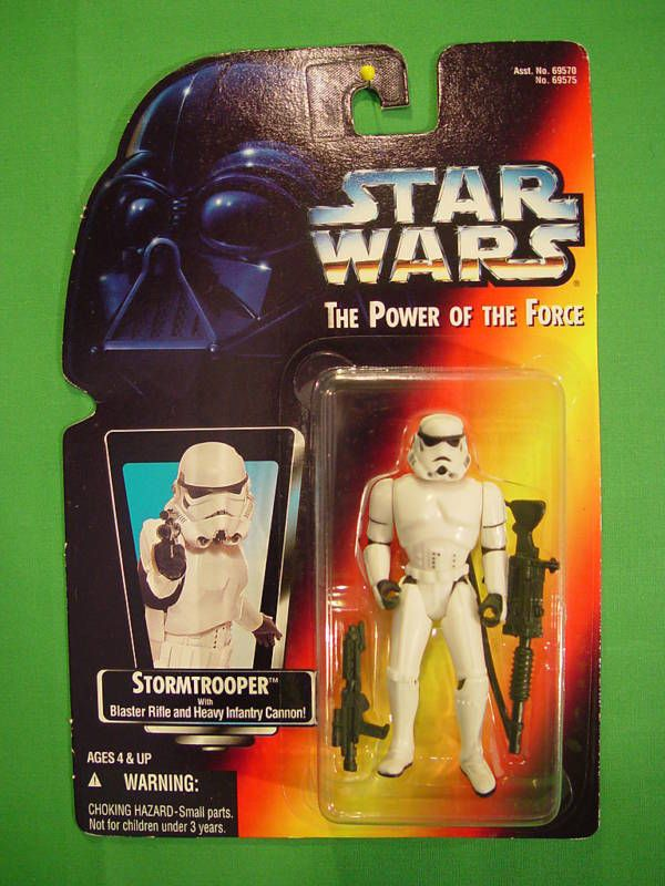 Star Wars Kenner Stormtrooper Action Figure Carded